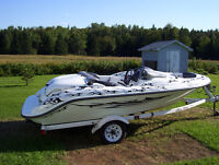 looking to trade my seadoo challenger