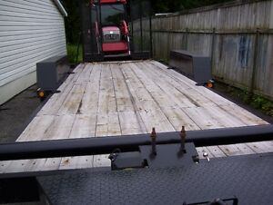 selling flat bed trailer