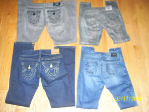 HUGE lot Womens True Religion, Rock Revival + Miss Me Jeans