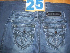 Huge lot of 5 Pairs of Rock Revival Womens Jeans