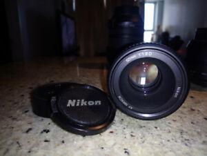 NIKKOR AF 50mm f1.8D Nikon F-Mount Lens