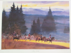 Limited Edition Lithograph Print by Thomas McNeely!
