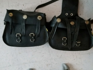 Willy and Max saddle bags