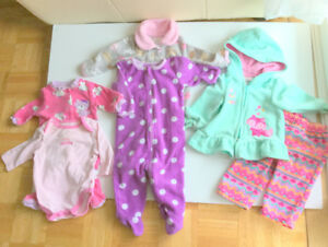 Baby Girl Great Clothes (3-6 m.) (6 pc. $2.50 ea.) Jumpers, Suit