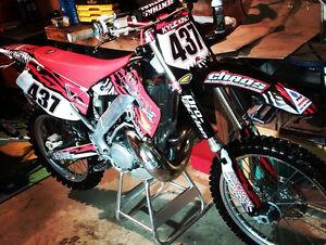 CR 250 dirt bike for sale
