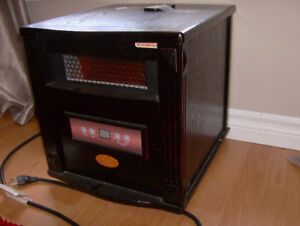 Infra red heating system