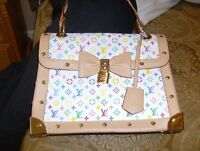 """3 DIFFERENT """"LOUIS VUITTON"""" HAND BAGS"""