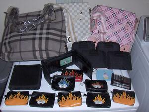 Lot sacs à mains & porte-monnaie (neufs)