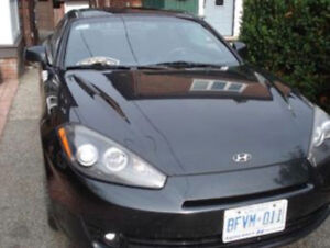 2008 Hyundai Tiburon Coupe (2 door)