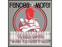 Fences & More, Fence & Deck specialists,Painting and more!!