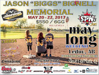 MAY LONG WEEKEND - ALL LEVELS LEDUC SLO-PITCH TOURNAMENT