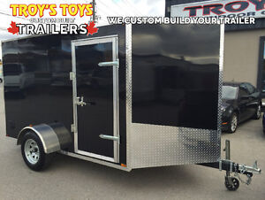 Canadian Made 6' x 10' V-Nose Cargo Trailers • 3 Year Warranty London Ontario image 4