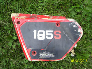 Honda XL125 side cover air breather cover airbox cover