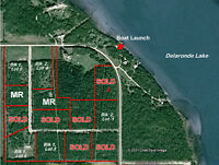 20 Acres at Delaronde Lake with 2 titles