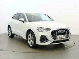 image for 2021 Audi Q3 1.5 TFSI CoD 35 S line (s/s) 5dr SUV Petrol Manual