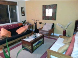 All inclusive fully furnished Bright and Clean 2 Bedroom Apt