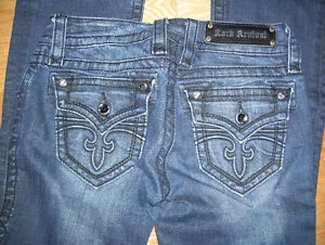 Huge Lot of 7 Different Pairs of Rock Revival Womens Jeans