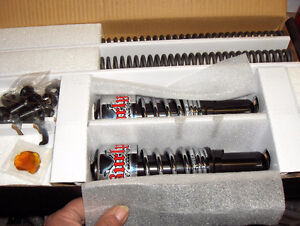 Burly Slammer Kit for Harley Sportsters  2004-08,, LED Tombstone