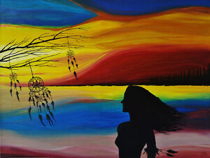 Original Paintings for Sale by The Classy Artist – Jacqui Reid Stratford Kitchener Area image 2