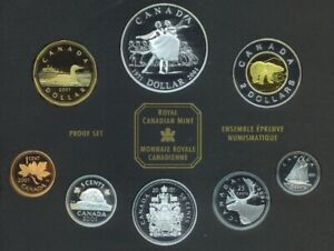 1983 Canada Uncirculated Coin Collection 6 Coin Set 1 Cent To One Dollar Royal Available In Various Designs And Specifications For Your Selection World Coins
