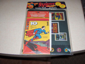 CANADA POST COMIC BOOK SUPERHEROES STAMPS