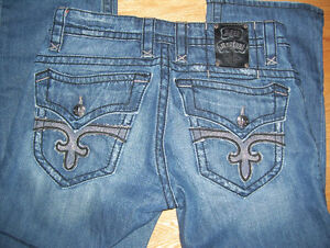 Lot of 3 Different Pairs of Rock Revival Mens Jeans