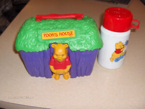 WINNIE the POOH LUNCH BOX & THERMOS