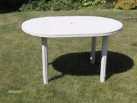 Outdoor Entertaining Table -- Great For The Patio