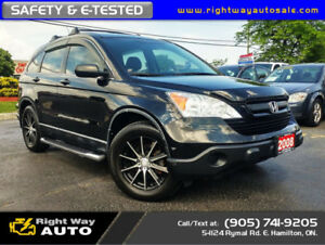 2008 Honda CR-V LX | LOW KMS | SAFETY & E-TESTED