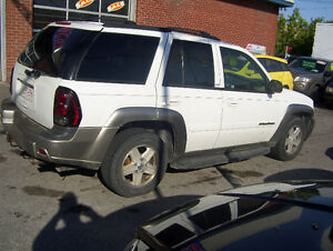 2002 Chev TrailBlazer LTZ 4X4 - LOADED! LEATHER - AS IS SPECIAL
