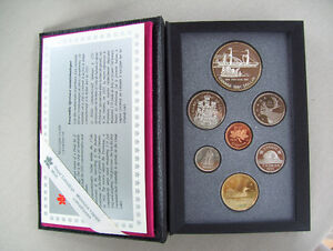 """""""Canadian Mint Silver Dollar Proof Coin Sets 1991 - 1999"""