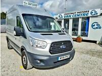 Ford Transit 330 L3H3 LWB FWD In Silver 59K One Owner 2016