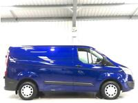 2017 FORD TRANSIT CUSTOM TREND LOW MILEAGE METALLIC BLUE SWB 2.0TDCI L1H1