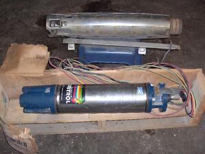 Pompe et moteur de pompe submersible neufs à vendre