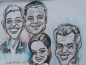 Caricatures by CHUCK