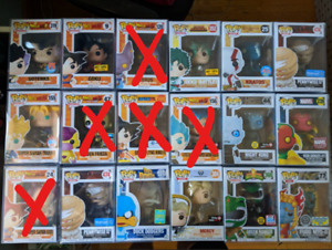 SELLING FUNKO POPS [DBZ, EXCLUSIVES, MY HERO]