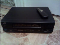 JVC VCR with remote VHS CLASSIC--