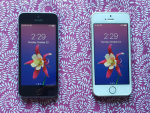 2 Telus/Koodo iPhone 5S Black & White 16GB & 64GB.
