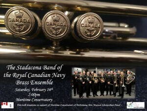The Stadacona Band of the Royal Canadian Navy's Brass Ensemble