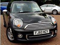 60 PLATE 2010 MINI Hatch 1.6 Cooper 3dr LOW MILEAGE+FULL SERVCE HISTRY+HPI CLEAR