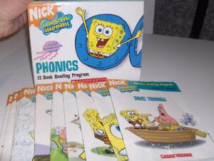 Sponge Bob Phonics Books