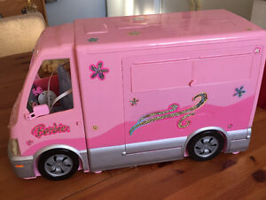 Barbie camper Cambridge Kitchener Area image 1
