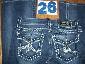 Huge Lot of Womens Miss Me Jeans 7 Total Size 26 + 27 Cambridge Kitchener Area image 1