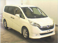 FRESH IMPORT NEW SHAPE HONDA STEPWAGON 2.0 PETROL AUTO ELECTRIC DOOR,CAMERA