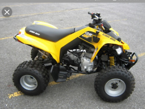 Looking For Polaris or Can am 250cc ATV