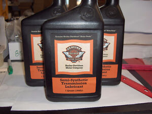 Genuine Harley Davidson Semi-Synthetic Transmission Lubricant