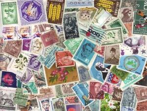 BULK MIX 1,000+ WORLD STAMPS OFF PAPER  inc - FREE  POST IN OZ:  $17.00
