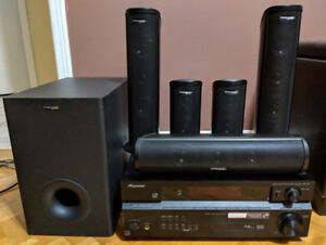 5.1 Channel Home Theatre with Receiver
