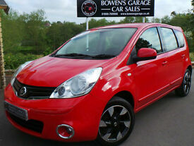 2012 NISSAN NOTE 1.4 ACENTA 5DR - 2 OWNERS - 31K MILES - S/HISTORY