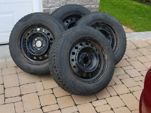 Tires on rimes 215 65 16